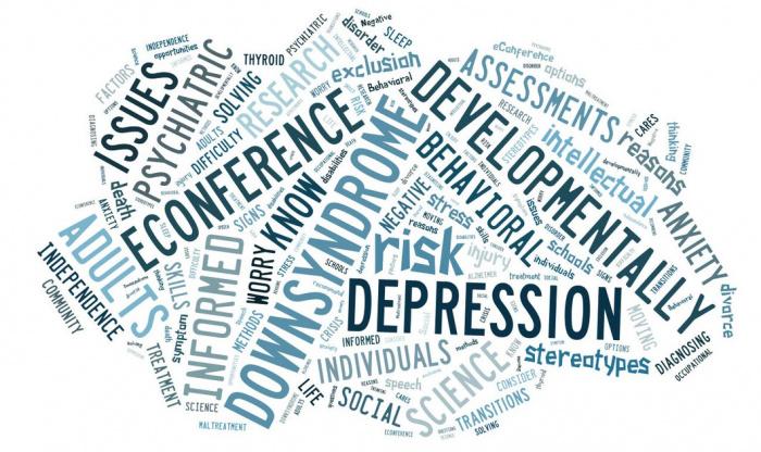 Θεραπεία των Ψυχικών Διαταραχών στο Σύνδρομο Down