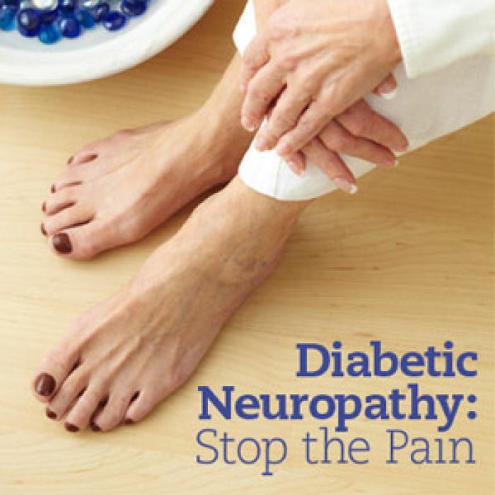 Θεραπεία Διαβητικής Νευροπάθειας